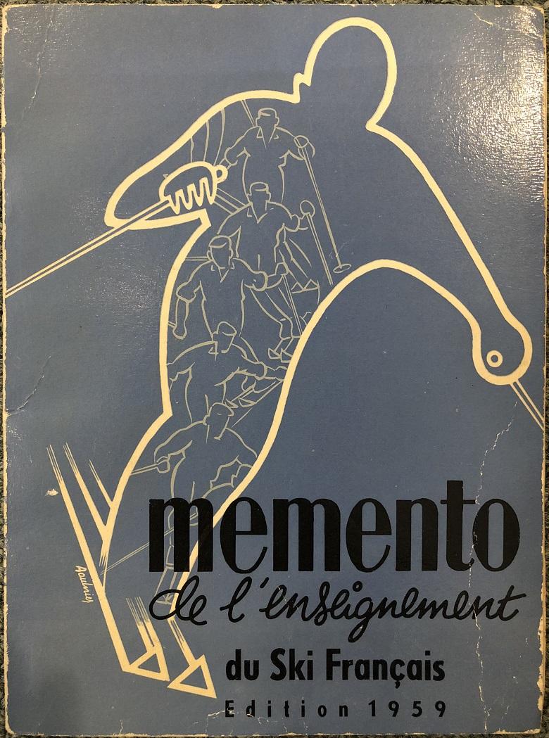 1960年版のフランスのスキー教程memento